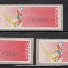 Sellos: PORTUGAL 1999 - ETIQUETAS CRUZET - YVERT Nº 5** DISTRIBUIDORES. Lote 198666570