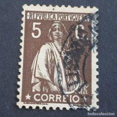 Sellos: PORTUGAL, 1923, CERES, AFINSA 252, YVERT 274, SCOTT 225, DENT. 12 X 11 1/2, USADO, ( LOTE AR ). Lote 198712380