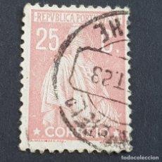 Sellos: PORTUGAL, 1923, CERES, AFINSA 255, YVERT 281, SCOTT 251, DENT. 12 X 11 1/2, USADO, ( LOTE AR ). Lote 198712697