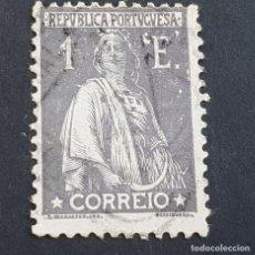Sellos: PORTUGAL, 1924-1926, CERES, AFINSA 288, YVERT 290, SCOTT 280, DENT. 12 X 11 1/2, USADO, ( LOTE AR ). Lote 198714431