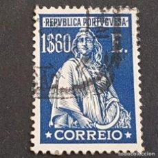 Sellos: PORTUGAL, 1926, CERES, EMISIÓN DE LONDRES, AFINSA 414, YVERT 432, SCOTT 416, USADO, ( LOTE AR ). Lote 198719498