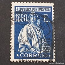 Sellos: PORTUGAL, 1926, CERES, EMISIÓN DE LONDRES, AFINSA 414, YVERT 432, SCOTT 416, USADO, ( LOTE AR ). Lote 198719520