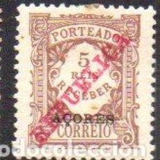 Sellos: PORTUGAL (ISLAS AZORES). AÑO 1911. SELLO PARA TASAS, SOBRECARGADO, EN NUEVO. Lote 199075325