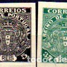 Sellos: PORTUGAL .AÑO 1919, SELLOS NO EMITIDOS. ESCUDO NACIONAL MONÁRQUICO, EN NUEVOS. Lote 199075611
