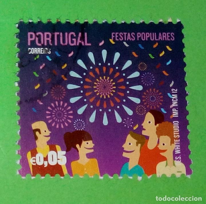 PORTUGAL 2012, FESTAS POPULARES. USED (Sellos - Extranjero - Europa - Portugal)