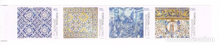 [CF7311A] AZORES 1994, CARTERA 500 ANIV. AZULEJOS DE PORTUGAL (MNH) (Sellos - Extranjero - Europa - Portugal)