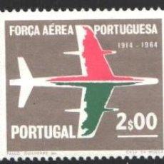 Sellos: PORTUGAL, 1965 YVERT Nº 974 / 976 /**/, 50 AÑOS DE LA FUERZA AÉREA PORTUGUESA . Lote 199754798