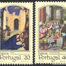 Sellos: PORTUGAL, 1985 YVERT Nº 1651 / 1652 /**/, NAVIDAD. Lote 199757020