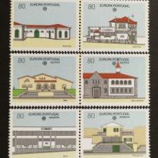 Sellos: PORTUGAL, EUROPA CEPT 1990 MNH, ESTABLECIMIENTOS POSTALES (FOTOGRAFÍA REAL). Lote 203454422