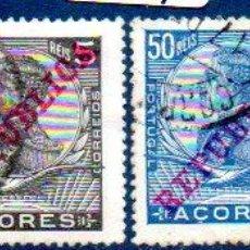 Sellos: PORTUGAL. ISLAS AZORES. AÑO 1911, SOBRECARGADOS, EN USADOS. Lote 204205733