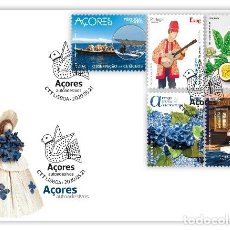 Sellos: PORTUGAL & FDC AZORES, AUTOADHESIVOS 2020 (87991). Lote 205881746