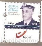 PORTUGAL ** & HISTORIA Y CULTURA,100 AÑOS DE AVELINO DA MOTA HISTORIADOR DE CARTOGRAFÍA 2020 (5751) (Sellos - Extranjero - Europa - Portugal)