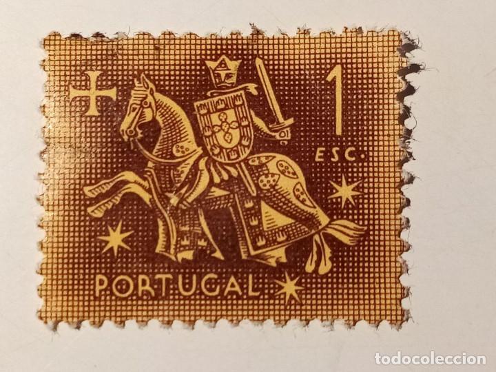 PORTUGAL 1953 1 ESCUDO (Sellos - Extranjero - Europa - Portugal)