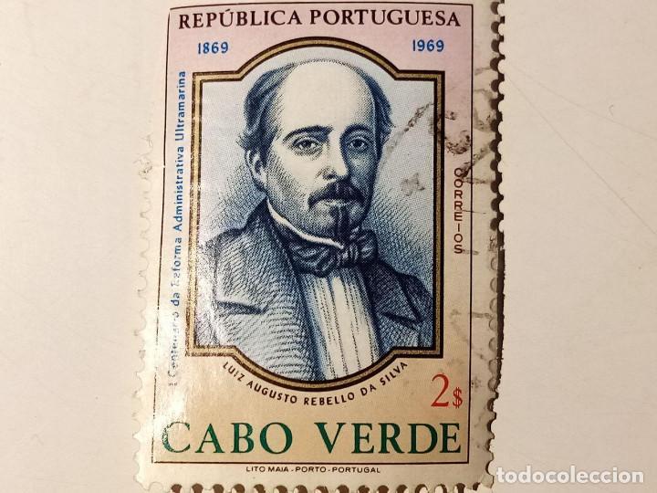 PORTUGAL CABO VERDE 1969 CENTENARIO DE LAS REFORMAS ADMINISTRATIVAS DE ULTRAMAR. (Sellos - Extranjero - Europa - Portugal)