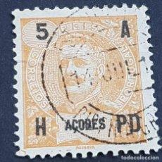 Sellos: AZORES AÇORES, 1906, CARLOS I, AFINSA 97, YVERT 99, SCOTT 102, USADO, ( LOTE AR ). Lote 206425256