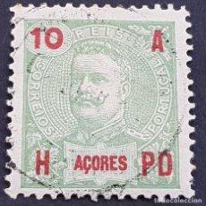 Sellos: AZORES AÇORES, 1906, CARLOS I, AFINSA 98, YVERT 100, SCOTT 103, USADO, ( LOTE AR ). Lote 206429518