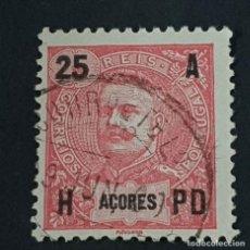 Sellos: AZORES AÇORES, 1906, CARLOS I, AFINSA 100, YVERT 102, SCOTT 105, USADO, ( LOTE AR ). Lote 206436393