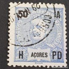 Sellos: AZORES AÇORES, 1906, CARLOS I, AFINSA 101, YVERT 103, SCOTT 106, USADO, ( LOTE AR ). Lote 206440481