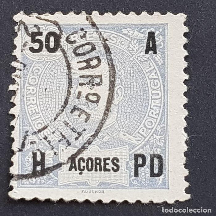 AZORES AÇORES, 1906, CARLOS I, AFINSA 101, YVERT 103, SCOTT 106, USADO, ( LOTE AR ) (Sellos - Extranjero - Europa - Portugal)
