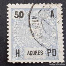 Sellos: AZORES AÇORES, 1906, CARLOS I, AFINSA 101, YVERT 103, SCOTT 106, USADO, ( LOTE AR ). Lote 206441836