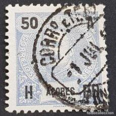 Sellos: AZORES AÇORES, 1906, CARLOS I, AFINSA 101, YVERT 103, SCOTT 106, USADO, ( LOTE AR ). Lote 206442067