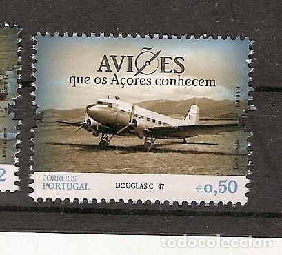 PORTUGAL ** & AVIONES QUE AZORES CONOCEN, LOCKHEED CONSTELLATION 2014 (6665) (Sellos - Extranjero - Europa - Portugal)