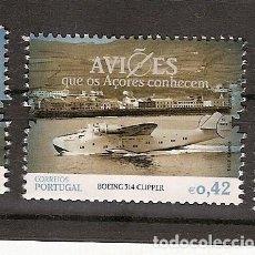 Sellos: PORTUGAL ** & AVIONES QUE AZORES CONOCEN, BOEING 314 CLIPPER 2014 (6665). Lote 206503587
