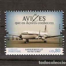 Sellos: PORTUGAL ** & AVIONES QUE AZORES CONOCEN, HAWKER SIDDELEY HS-748 AVRO 2014 (6665). Lote 206503628
