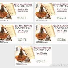 Sellos: PORTUGAL 2020 - FRANKING LABELS - FOUNDLING TOKENS SANTA CASA DA MISERICORDIA DE LISBOA - TOKEN OF J. Lote 206799787