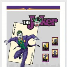 Sellos: PORTUGAL 2020 - PERSONALIZED STAMPS DC COMICS - JOKER - COLLECTOR'S SHEET WITH SET. Lote 206800788