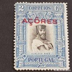 Sellos: AZORES, AÇORES,1927, INDEPENDENCIA PORTUGAL 3ª EMISIÓN, AFINSA 266*, YVERT 283*,FIJASEL, ( LOTE AR ). Lote 207369818