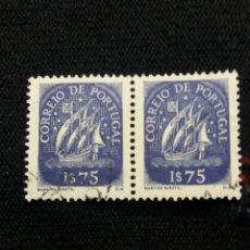 Sellos: PORTUGAL, 1$75, CARAVELA, AÑO 1943,. Lote 208771095