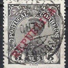 Sellos: PORTUGAL 1910 - REY MANUEL II, SOBREIMPRESO REPUBLICA - SELLO USADO. Lote 212582328