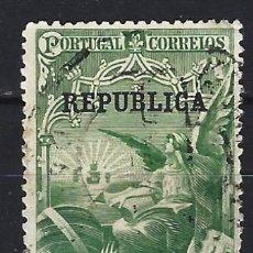 Sellos: PORTUGAL 1911 - EN MEMORIA DE VASCO DA GAMA , SOBREIMPRESO REPUBLICA - SELLO USADO. Lote 212596586
