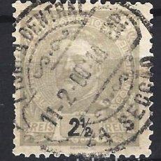 Sellos: PORTUGAL 1895-96 - REY CARLOS I , NUEVO DIBUJO - SELLO USADO. Lote 212662692