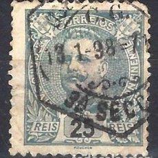 Sellos: PORTUGAL 1895-96 - REY CARLOS I , NUEVO DIBUJO - SELLO USADO. Lote 212662887