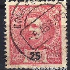 Sellos: PORTUGAL 1898-1905 - REY CARLOS I , NUEVOS COLORES - SELLO USADO. Lote 212663082