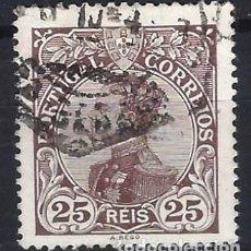 Sellos: PORTUGAL 1910 - REY MANUEL II - SELLO USADO. Lote 212663190