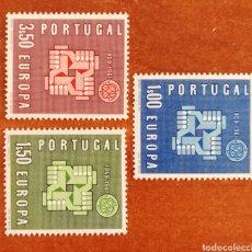 Sellos: PORTUGAL, EUROPA CEPT 1961 MNH (FOTOGRAFÍA REAL). Lote 213767951