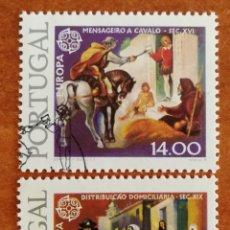 Sellos: PORTUGAL, EUROPA CEPT 1979 USADA (FOTOGRAFÍA REAL). Lote 213768076