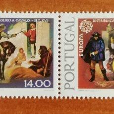 Sellos: PORTUGAL, EUROPA CEPT 1979 MNH (FOTOGRAFÍA REAL). Lote 213768806