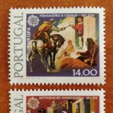 Sellos: PORTUGAL, EUROPA CEPT 1979 MNH (FOTOGRAFÍA REAL). Lote 213769110