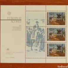 Sellos: PORTUGAL(AZORES) EUROPA CEPT 1982 MNH (FOTOGRAFÍA REAL). Lote 213769397