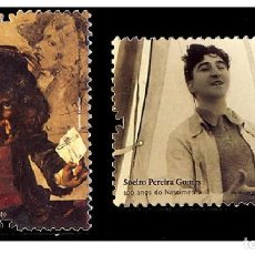 Sellos: PORTUGAL 2009 - IMPORTANT PEOPLE IN PORTUGUESE HISTORY AND CULTURE STAMP SET MNH. Lote 213829940