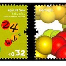 Sellos: PORTUGAL 2009 - AQUIHASELO - SCIENCE IN PORTUGAL STAMP SET MNH. Lote 213830067