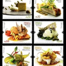 Sellos: PORTUGAL 2009 - THE FLAVOURS OF LUSOPHONY STAMP SET MNH. Lote 213830275