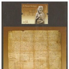Sellos: PORTUGAL 2009 - THE 900TH ANNIVERSARY OF THE BIRTH OF D. AFONSO HENRIQUES SET MNH. Lote 213830335