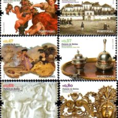 Sellos: PORTUGAL 2009 - THE BELEM PALACE STAMP SET MNH. Lote 213830460