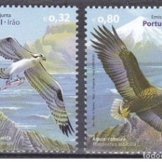 Sellos: PORTUGAL 2009 - JOINT ISSUE WITH IRAN - BIRDS STAMP SET MNH. Lote 213830497