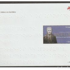 Sellos: PORTUGAL 2009 - THE STAMPS AND THE SENSES - THE 100TH ANNIVERSARY OF THE BIRTH OF LOUIS BRAILLE. Lote 213830537